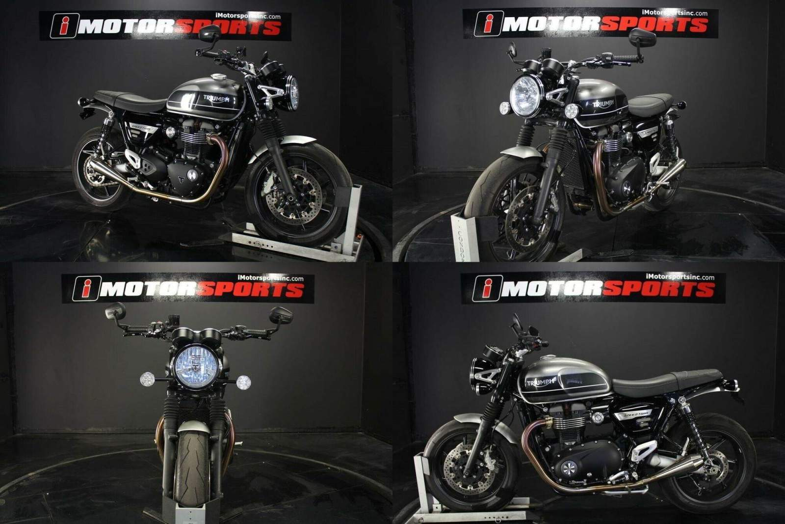 2019 Triumph Speed Twin Silver Ice and Storm Grey Gray used for sale craigslist