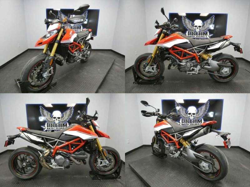 2020 Ducati Hypermotard 950 SP Special Red used for sale