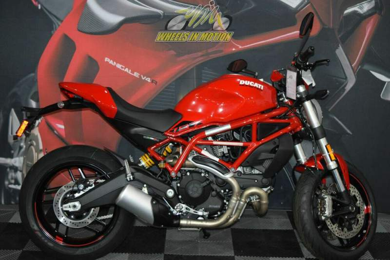 2020 Ducati Monster 797 Red Red used for sale craigslist