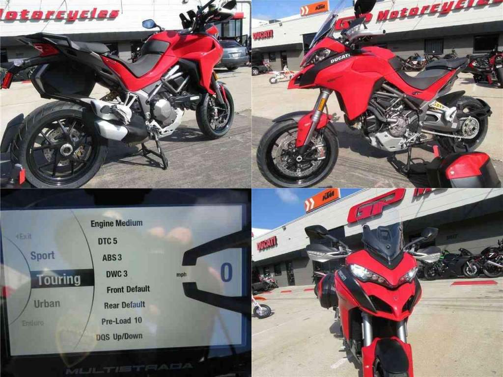 2020 Ducati Multistrada 1260 S Tour Red used for sale craigslist