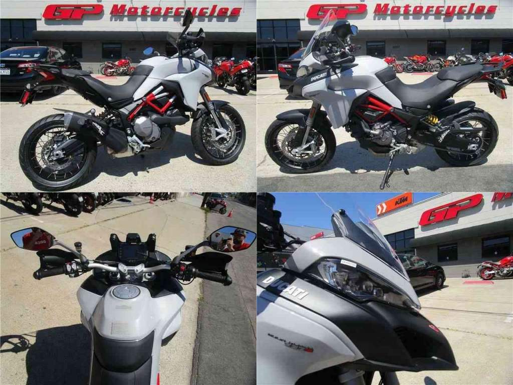 "2020 Ducati Multistrada 950 S SW ""S"" Spoked Wheels Gray used for sale craigslist"