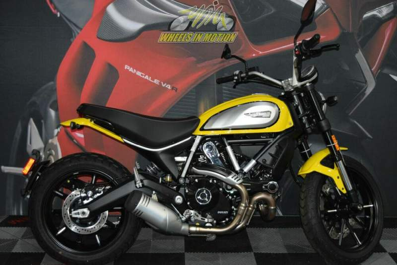 2020 Ducati Scrambler 800 Icon Yellow Yellow used for sale craigslist