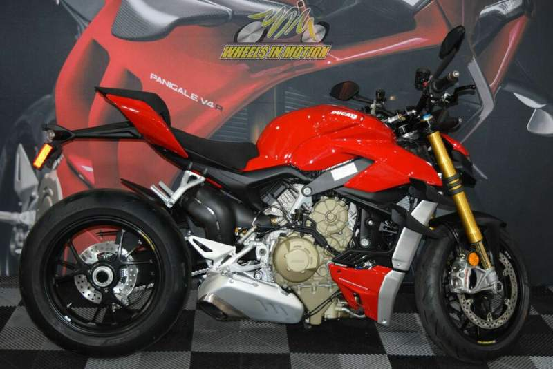 2020 Ducati Streetfighter V4 S Ducati Red Red used for sale