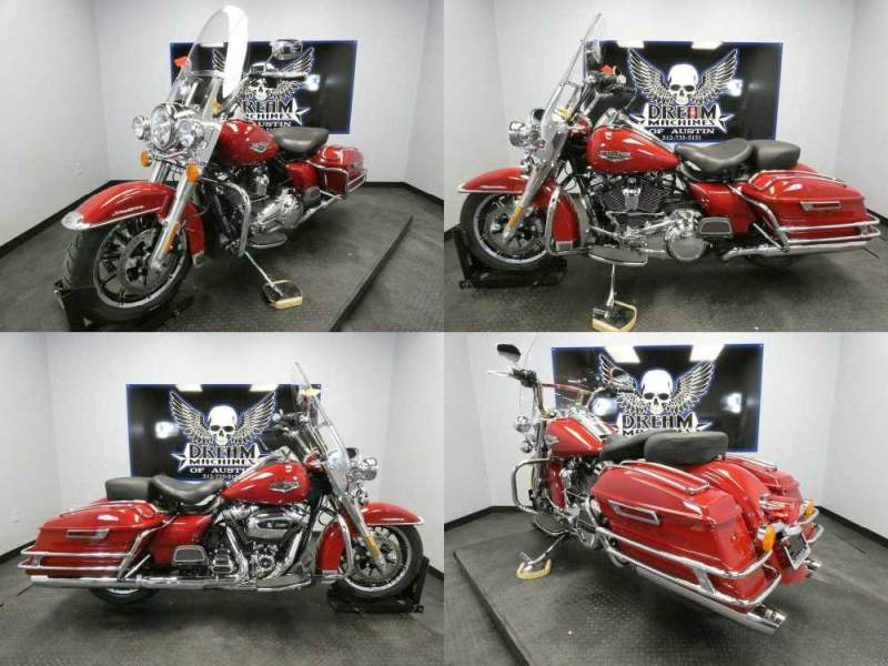 2020 Harley-Davidson FLHR - Road King Red used for sale
