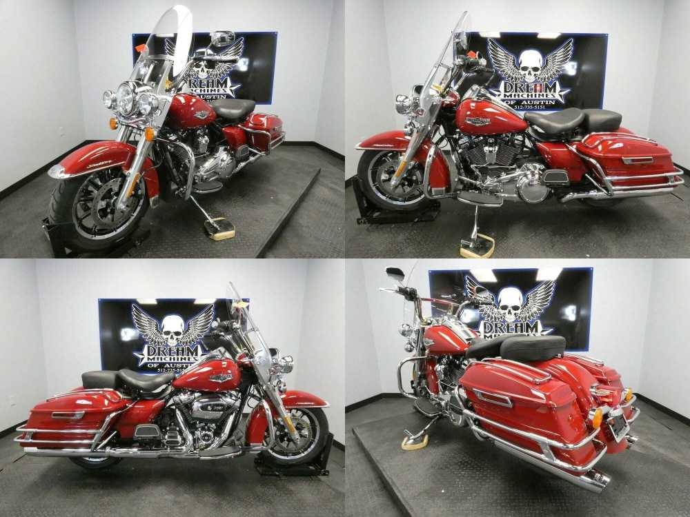2020 Harley-Davidson FLHR - Road King Red used for sale craigslist