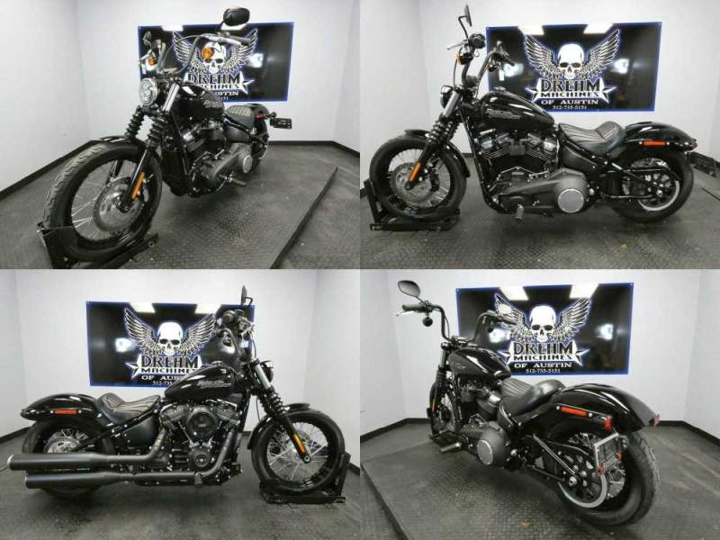 2020 Harley-Davidson FXBB - Softail Street Bob Black used for sale craigslist