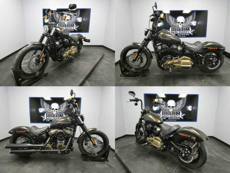 2020 Harley-Davidson FXBB - Softail Street Bob Gray used for sale craigslist