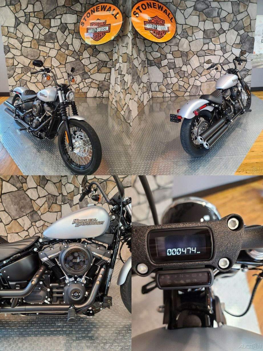 2020 Harley-Davidson Softail Street Bob Barracuda Silver Denim used for sale craigslist