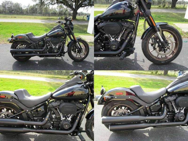 2020 Harley-Davidson Softail Low Rider S Black used for sale