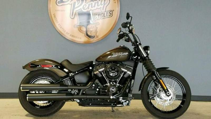 2020 Harley-Davidson Softail Street Bob Gray used for sale