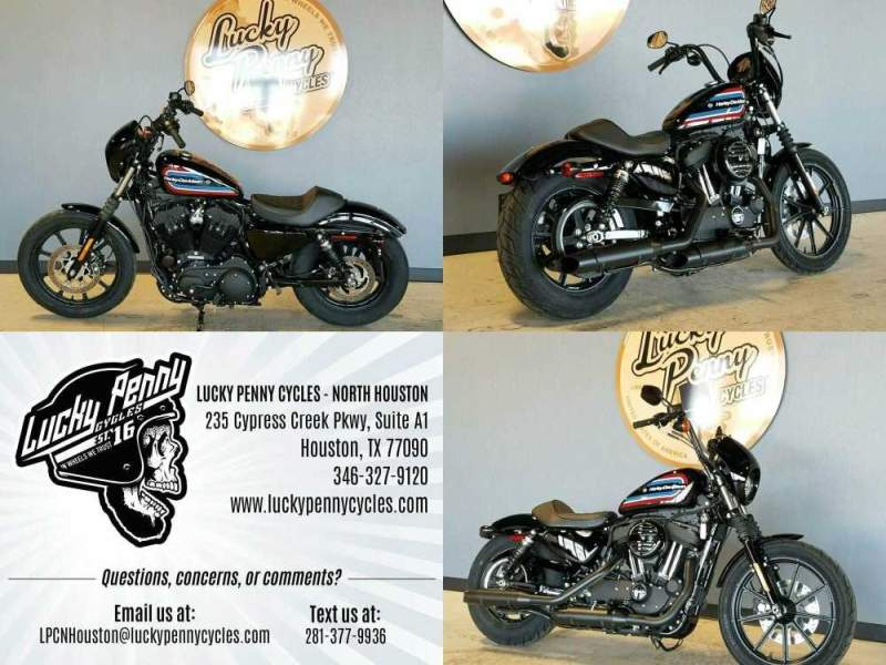 2020 Harley-Davidson XL1200NS Black used for sale
