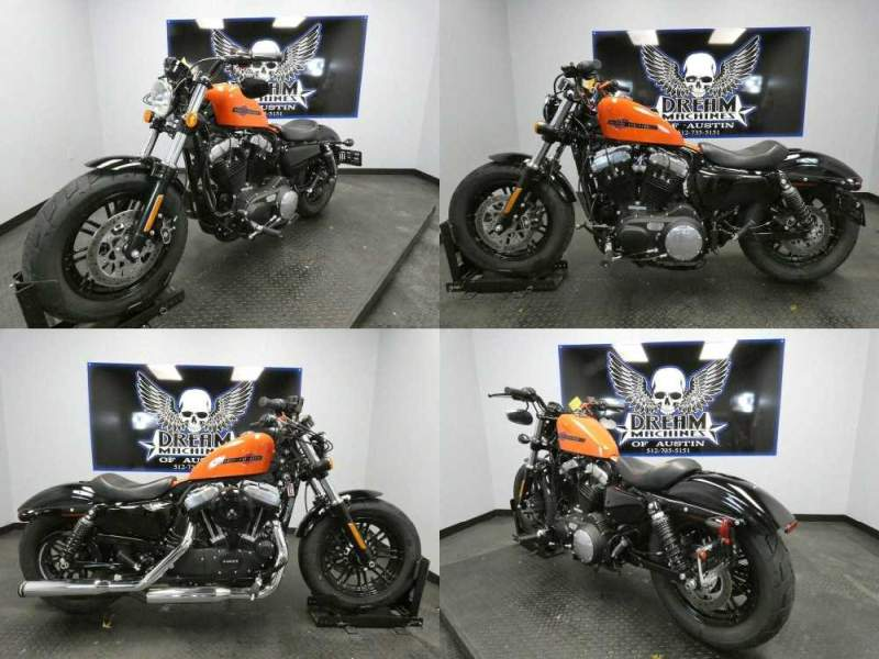 2020 Harley-Davidson XL1200X - Sportster Forty-Eight Orange used for sale
