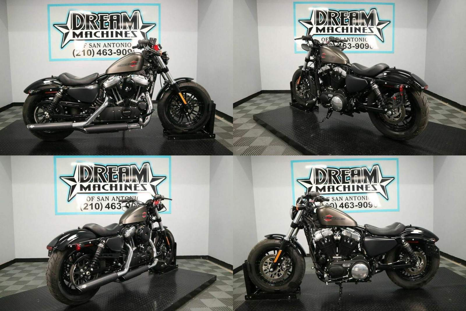 2020 Harley-Davidson XL1200X - Sportster Forty-Eight Gray used for sale