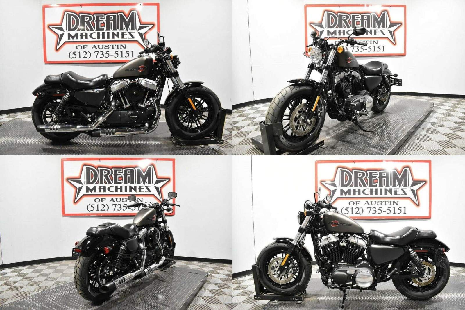 2020 Harley-Davidson XL1200X - Sportster Forty-Eight Gray used for sale craigslist