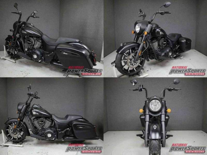 2020 Indian SPRINGFIELD DARK HORSE W/ABS THUNDER BLACK used for sale