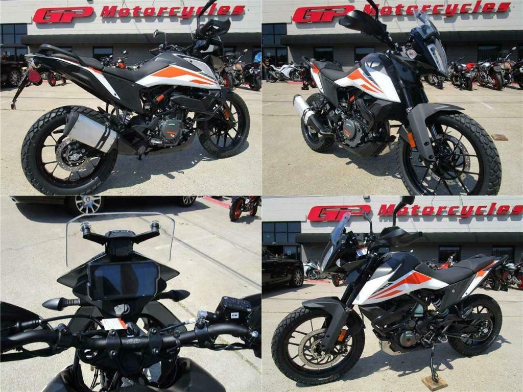 2020 KTM 390 Adventure White used for sale