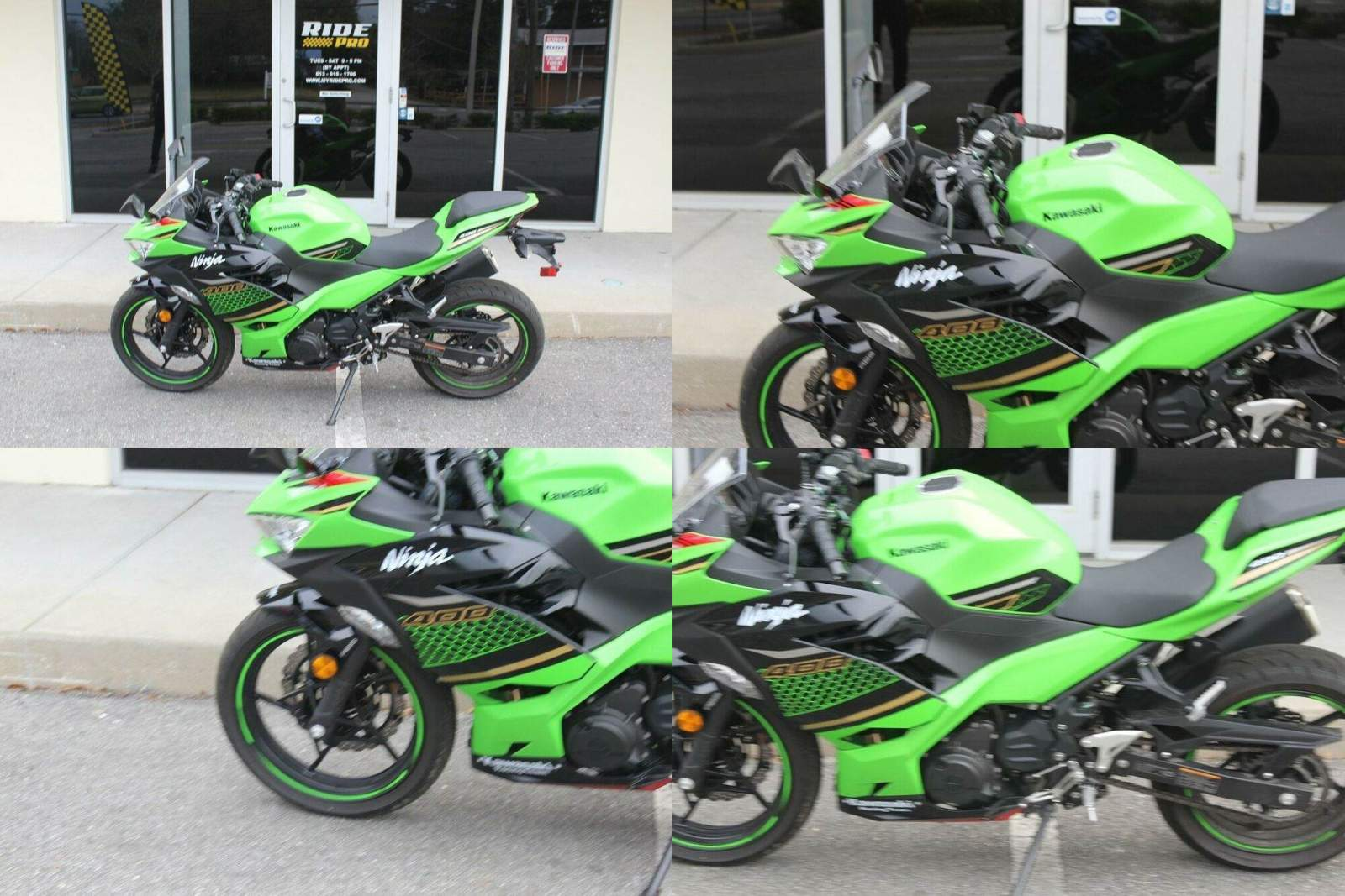 2020 Kawasaki Ninja ABS KRT Edition Green used for sale craigslist