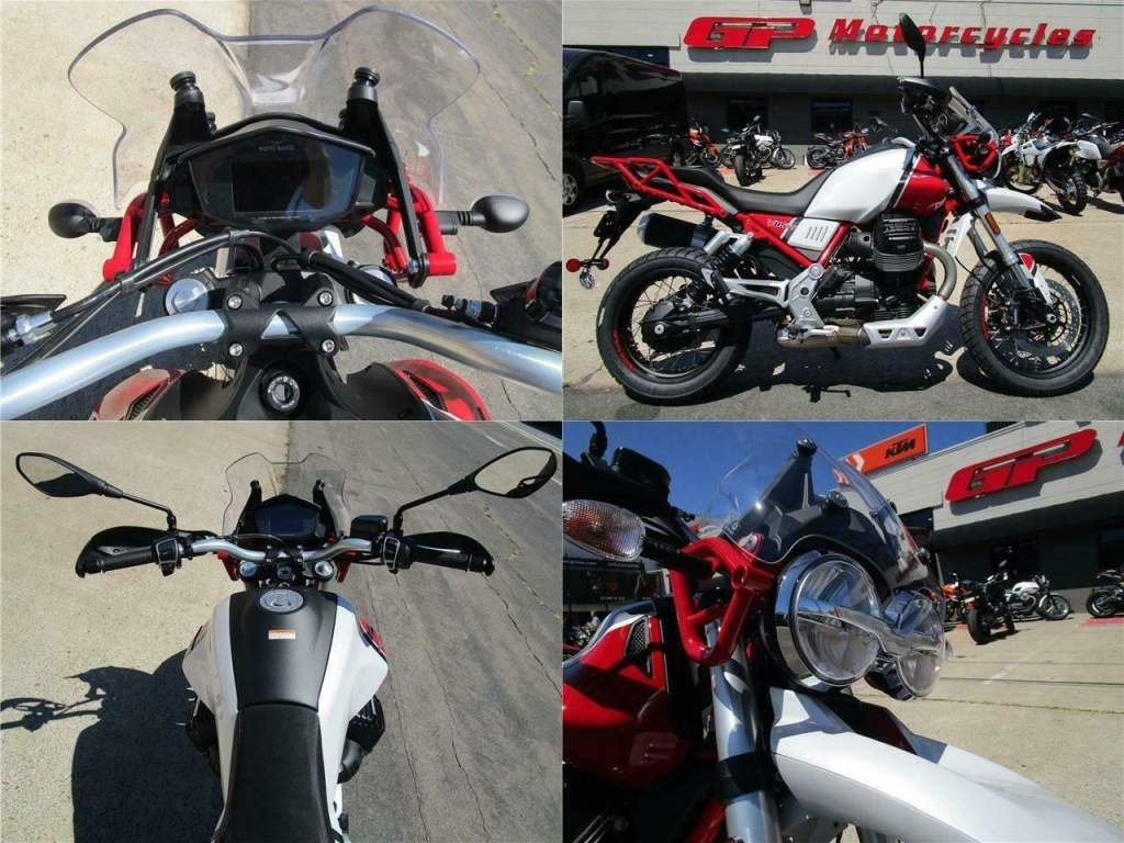 2020 Moto Guzzi V85 TT Adventure Red used for sale craigslist