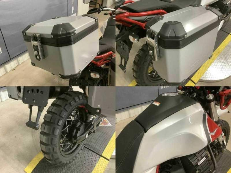 2020 Moto Guzzi V85 TT Adventure White used for sale craigslist