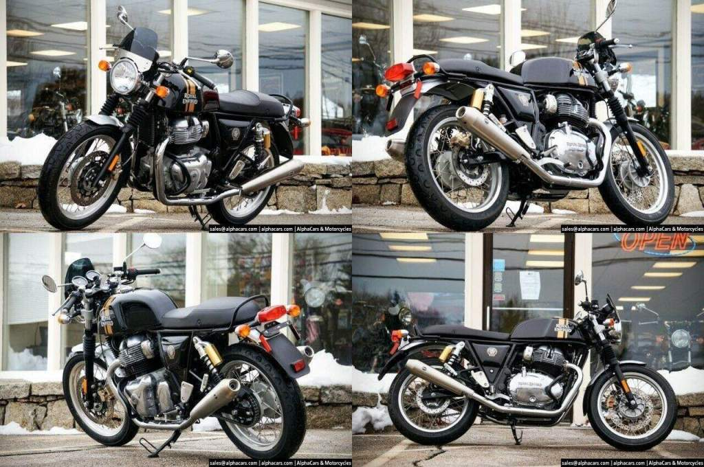 2020 Royal Enfield Continental GT 650 Black Magic Sport Custom Black used for sale