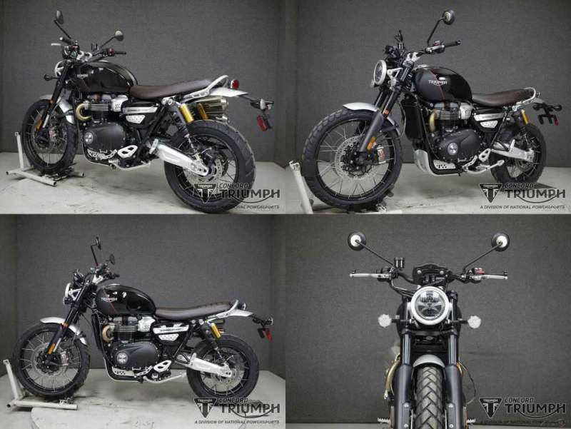 2020 Triumph SCRAMBLER XC JET BLACK/MATTE BLACK used for sale craigslist