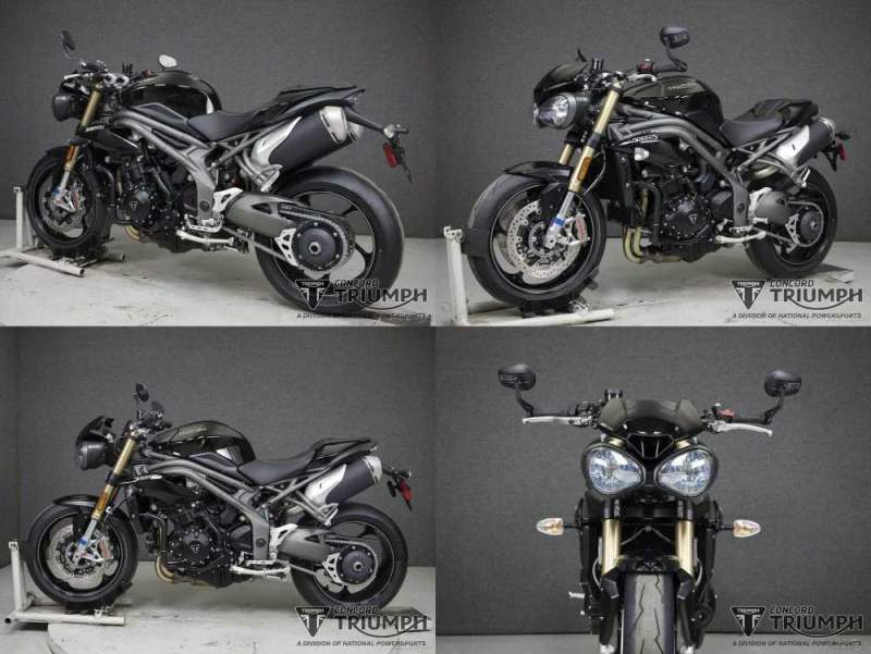 2020 Triumph Speed Triple S JET BLACK used for sale