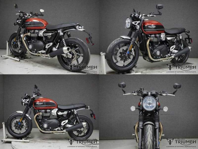 2020 Triumph Speed Twin KOROSI RED/STORM GREY used for sale