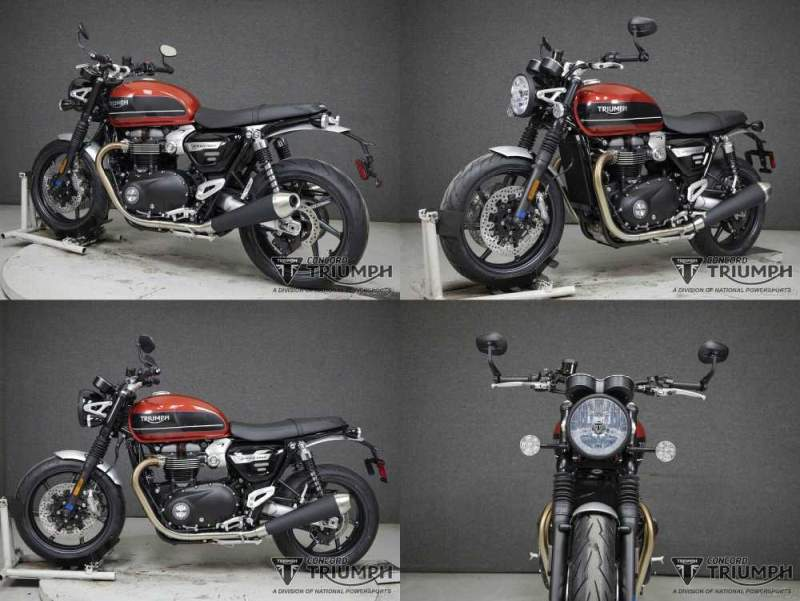 2020 Triumph Speed Twin KOROSI RED/STORM GREY used for sale craigslist