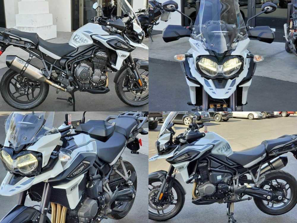 2020 Triumph Tiger 1200 Alpine Edition Snowdonia White -- used for sale