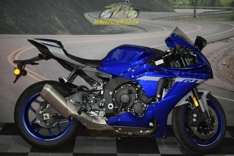 2020 Yamaha YZF-R Blue used for sale craigslist
