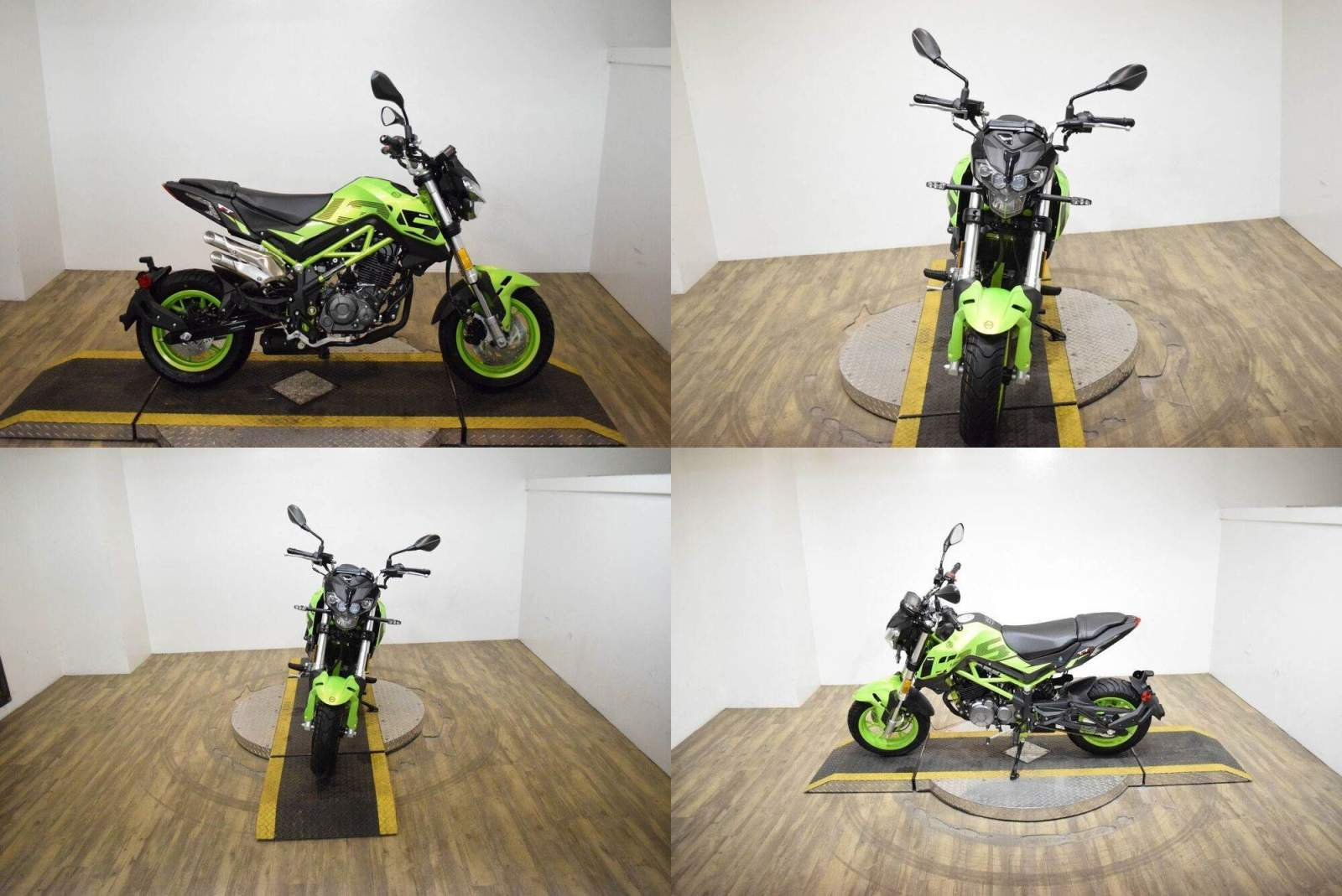 2021 Benelli TNT135 Green new for sale