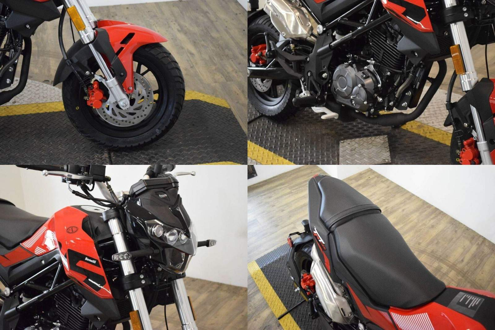 2021 Benelli TNT135 Red new for sale