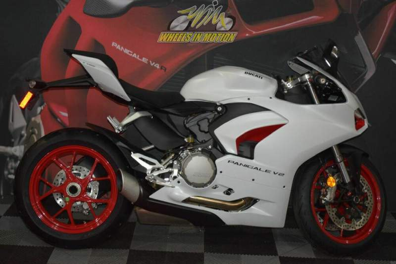2021 Ducati Panigale V2 White Rosso Livery White new for sale