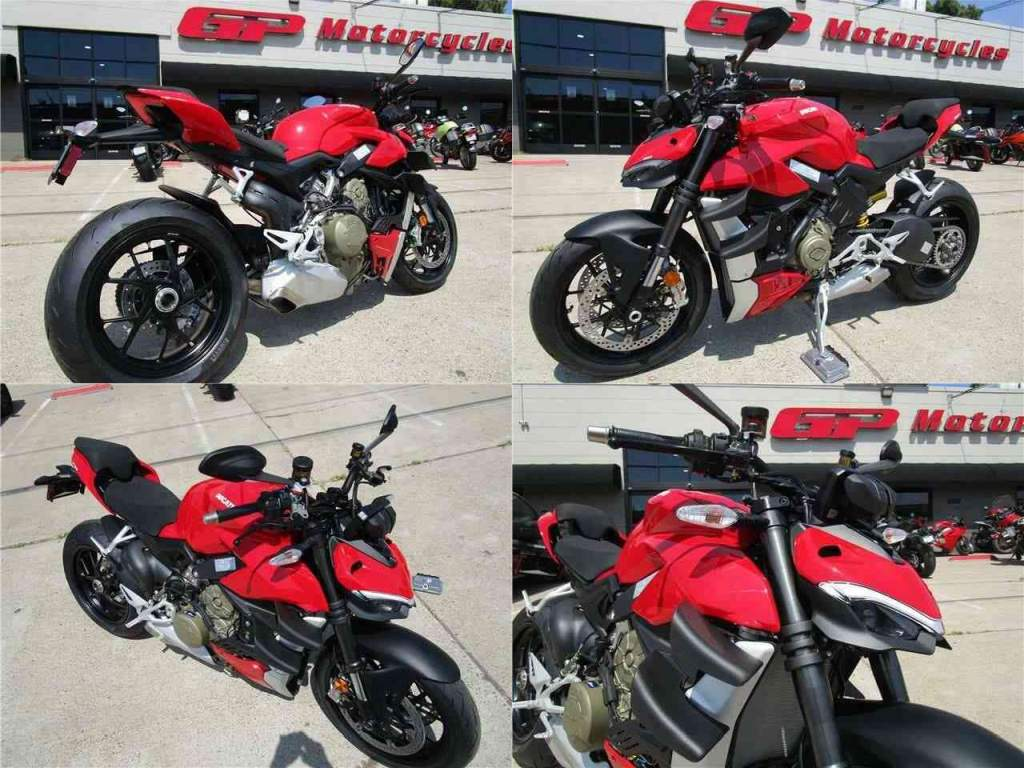2021 Ducati Streetfighter V4 Red new for sale