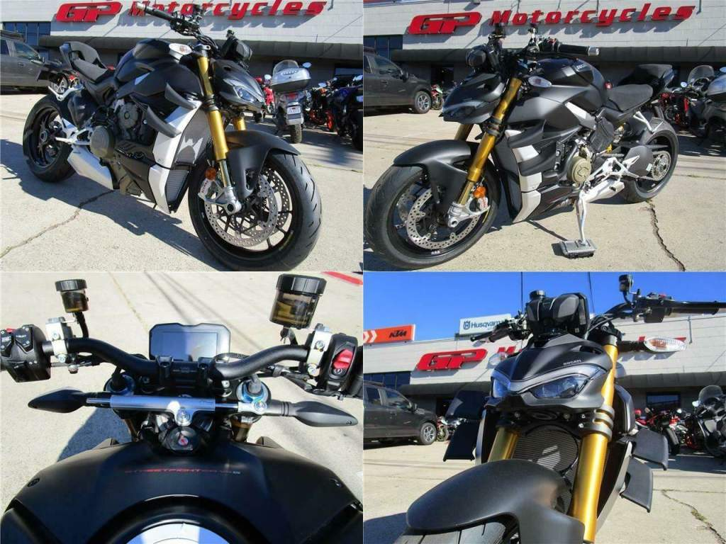 2021 Ducati Streetfighter V4 S Black new for sale