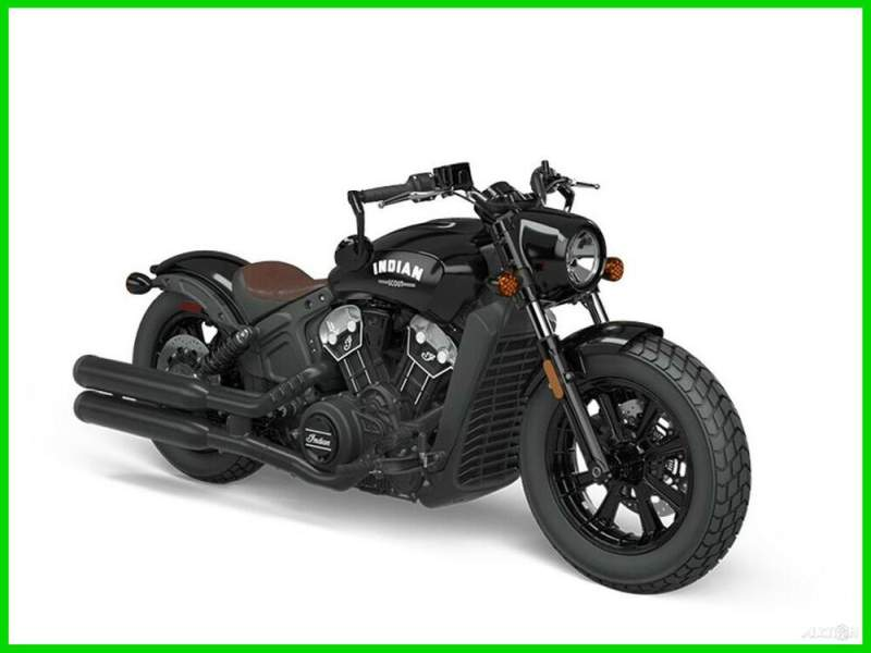 2021 Indian Scout Bobber ABS Thunder Black THUNDER BLACK new for sale