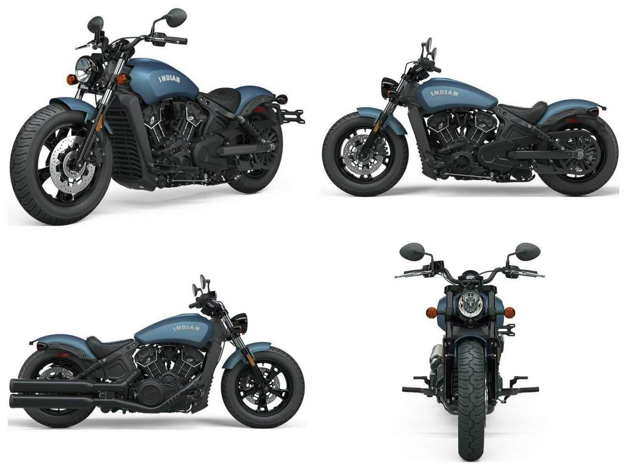 2021 Indian Scout® Bobber Sixty ABS Blue new for sale