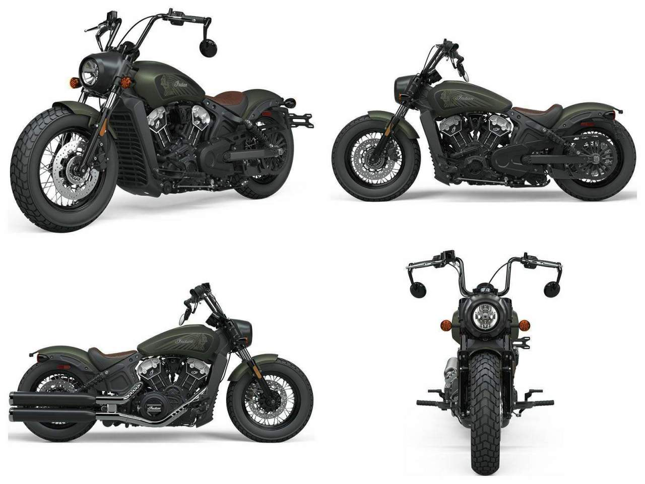 2021 Indian Scout® Bobber Twenty ABS Sagebrush Smoke new for sale
