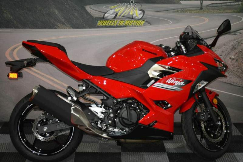 2021 Kawasaki Ninja® 400 ABS Passion Red Red new for sale