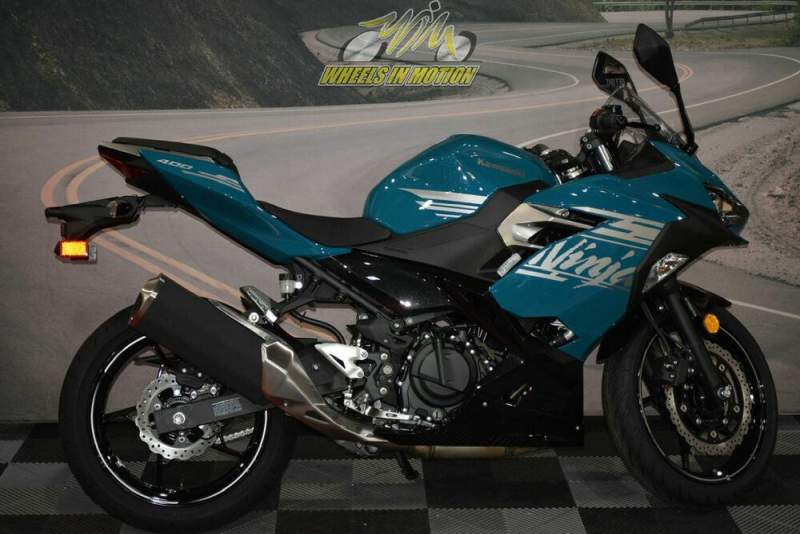 2021 Kawasaki Ninja® 400 ABS Pearl Nightshade Teal/Metallic Spar Teal new for sale