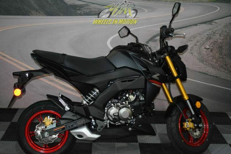 2021 Kawasaki Z125 PRO Black new for sale