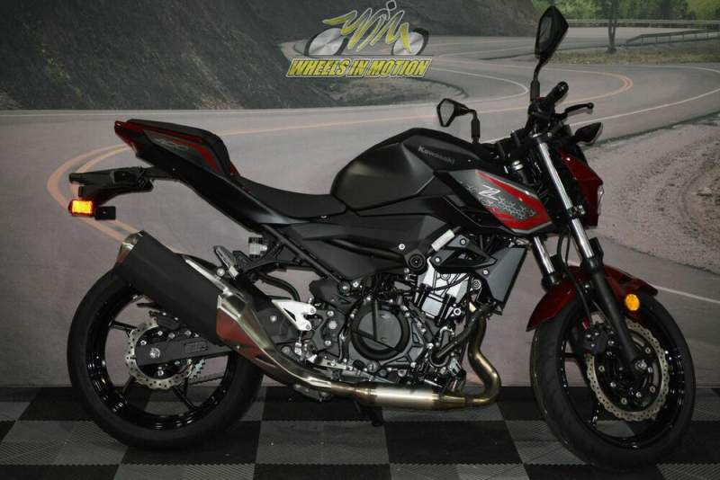 2021 Kawasaki Z400 ABS Red new for sale