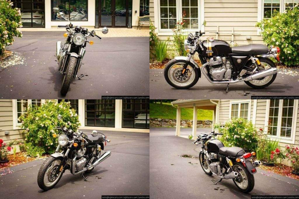 2021 Royal Enfield Continental GT 650 Black Magic Black new for sale