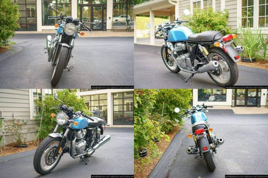 2021 Royal Enfield Continental GT 650 Ventura Blue Blue new for sale