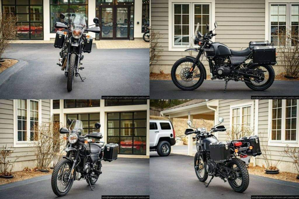 2021 Royal Enfield Himalayan Adventure Package Granite new for sale
