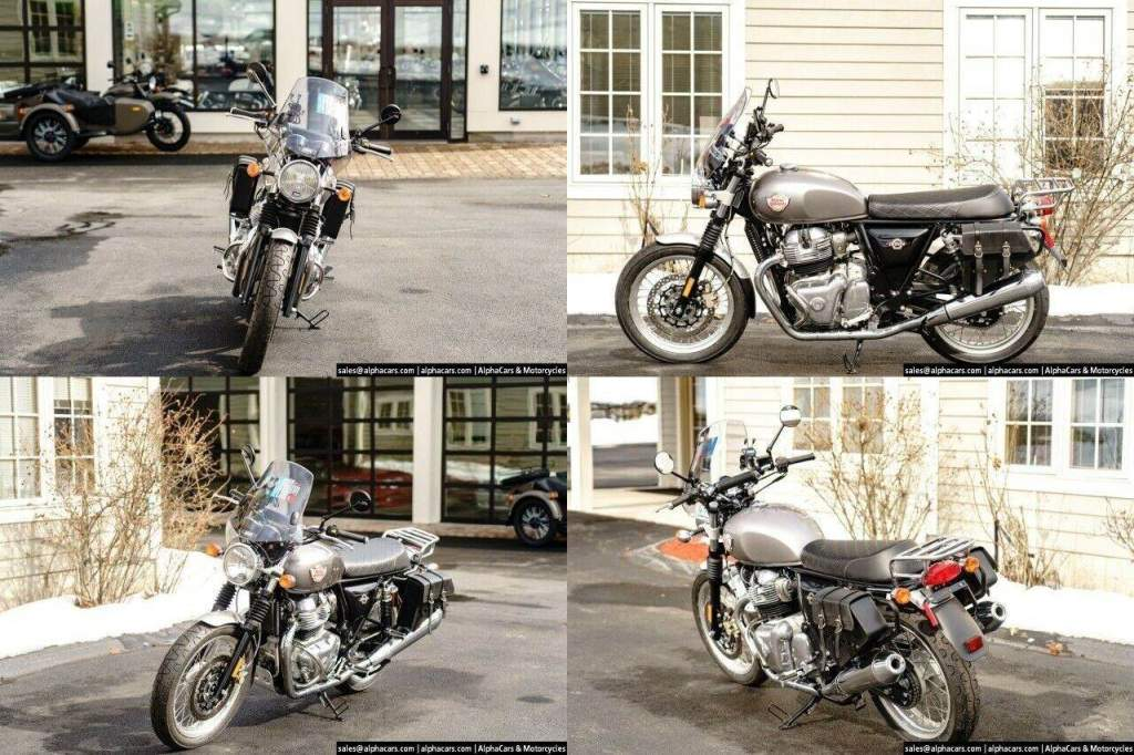 2021 Royal Enfield Interceptor INT650 Silver Spectre Touring Silver new for sale