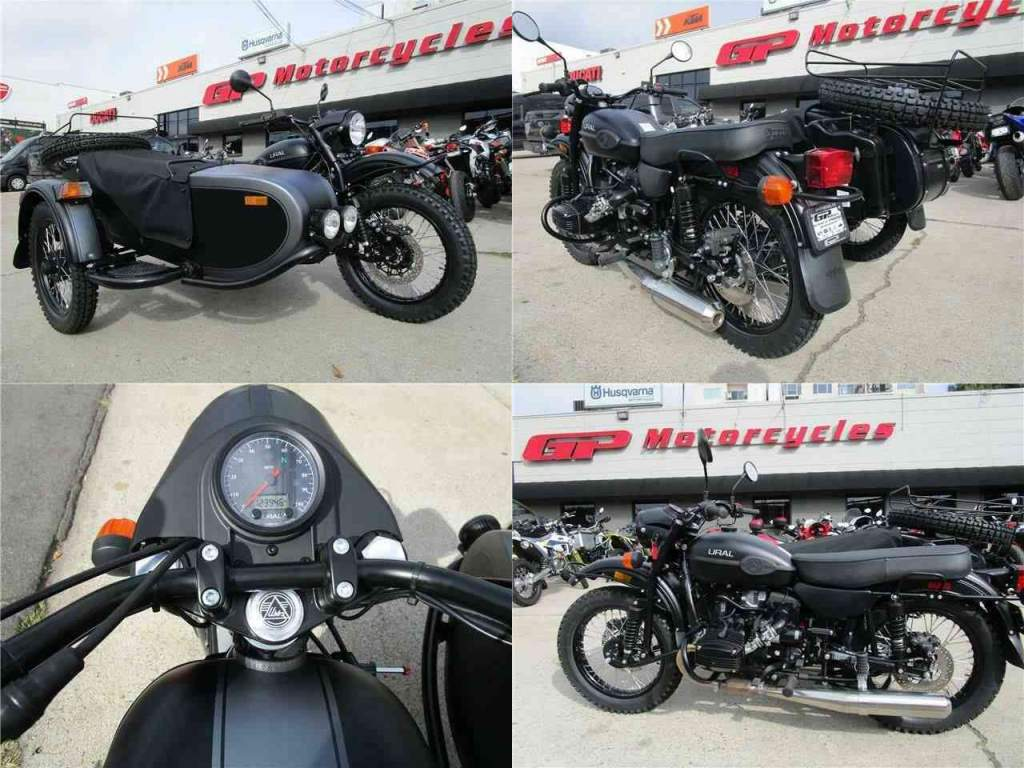 2021 Ural Gear Up Gear Up 2WD Black new for sale