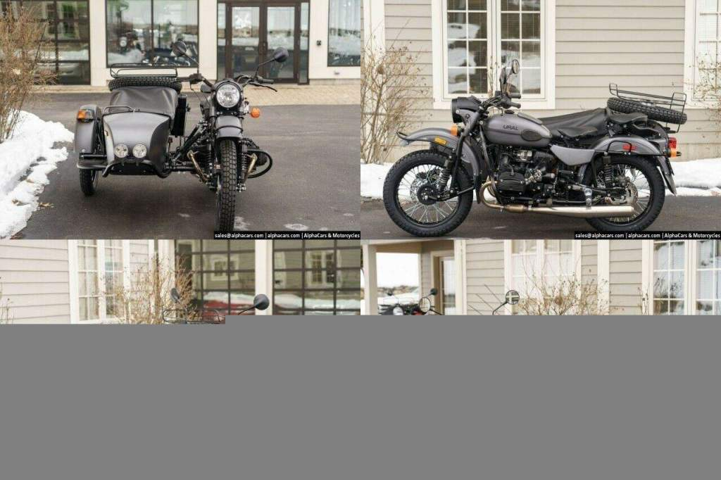 2021 Ural Gear Up Slate Grey Gray new for sale