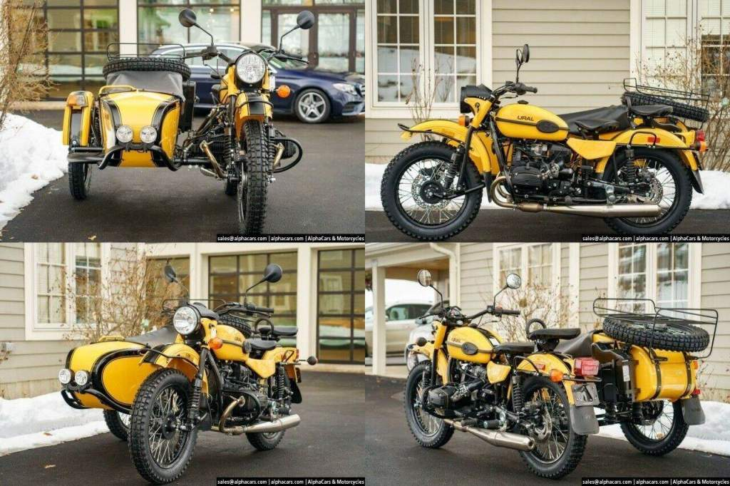 2021 Ural Gear Up Yellow & Black Black new for sale