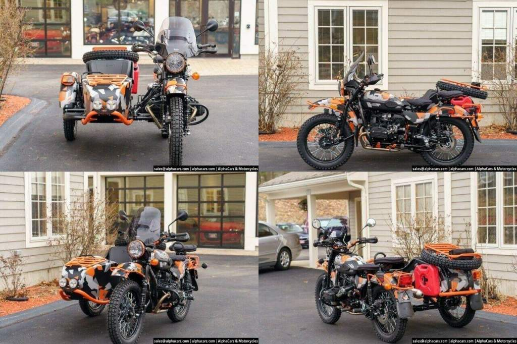 2021 Ural Limited Edition GEO GEO Camo new for sale